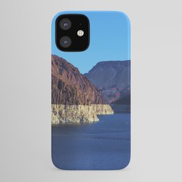 The Colorado River from the Hoover Dam Wall iPhone Case