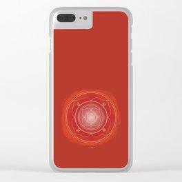 MULADHARA Boho mandala Clear iPhone Case