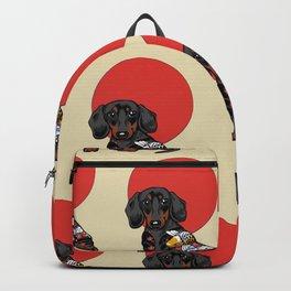 Yakuza Dachshund Backpack