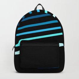 Blue Streaking Dice Backpack