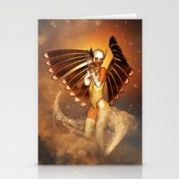 angel Stationery Cards featuring Angel by nicky2342