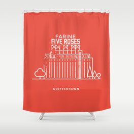 Griffintown, Montréal (Qc) Shower Curtain