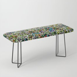 Colorful Abstract Patterns Bench