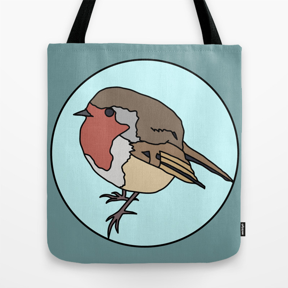 Robin - Robin Redbreast Tote Bag by Mothpathtags (TBG8909815) photo