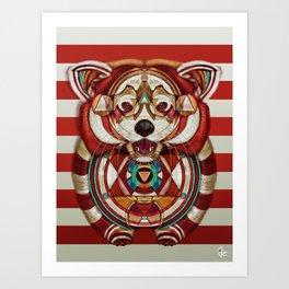 Red Panda by Giulio Rossi Art Print