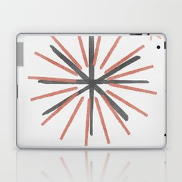 A star in space - simple lines and symbols Laptop & iPad Skin