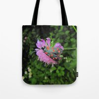 moth Tote Bags featuring moth by giol's