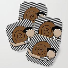 French Snail ~ Escargot Coaster
