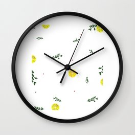 Kitchen Cooking Pattern Cook Rolling Pin Gift Wall Clock