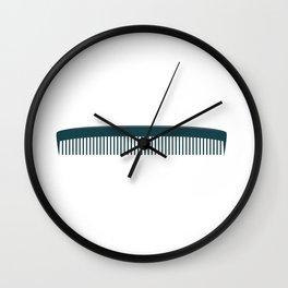 Hair Comb Wall Clock
