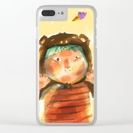 Choose one making you feel better Clear iPhone Case