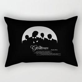 The Gentlemen Rectangular Pillow