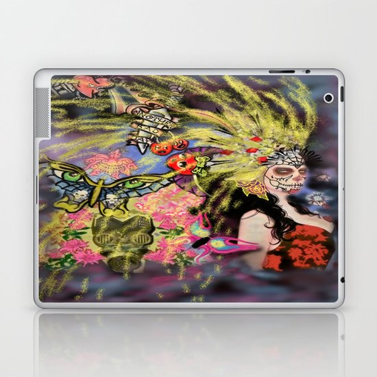 Fireworks for the Dead Laptop & iPad Skin