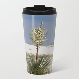 White Sands Soap Yucca Metal Travel Mug