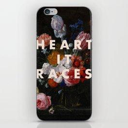 HEART IT RACES iPhone Skin