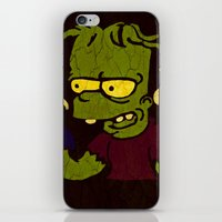 simpson iPhone & iPod Skins featuring Bart Simpson by Jide