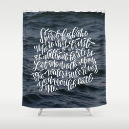 Oceans Shower Curtain