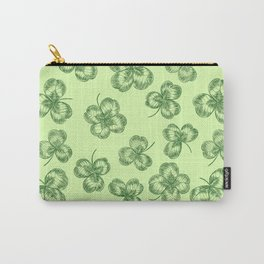 Clovers Carry-All Pouch