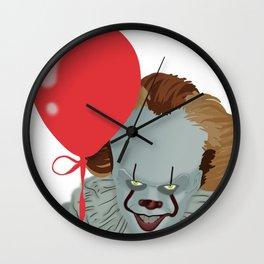 IT the clown Wall Clock