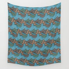 Pine cones pattern Wall Tapestry