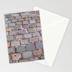 Rose Petals, Parc de Belleville, Paris Stationery Cards