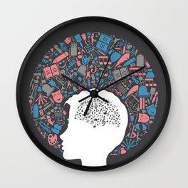 Arts a head Wall Clock
