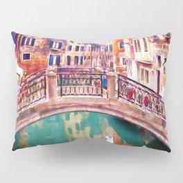 Small Bridge in Venice Pillow Sham