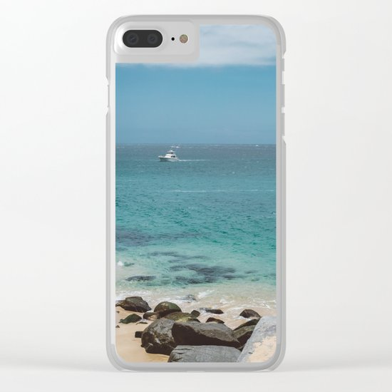 Cabo Boat II Clear iPhone Case