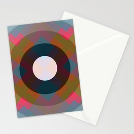 Colorful Retro Pattern Stationery Cards