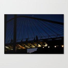Bridgeline Skyline Canvas Print