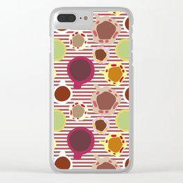 coffees and teas 1 Clear iPhone Case