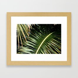 Palm bone Framed Art Print