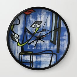 The Hobby Art Wall Clock