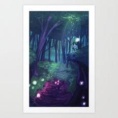 Kokiri Art Print