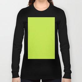 Lime Green Long Sleeve T-shirt