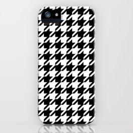 Black and white Alabama pattern university of alabama crimson tide college iPhone Case