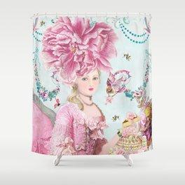 Marie Antoinette Wallflower Shower Curtain