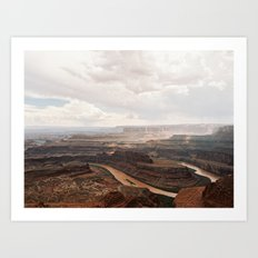 Dead Horse Canyon  Art Print