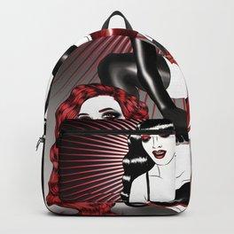 Black Bondage Backpack