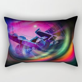 Our world is a magic - Time Tunnel 2 Rectangular Pillow