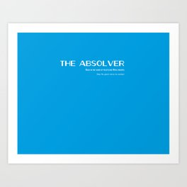 The Absolver Art Print