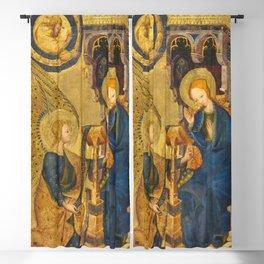 The Annunciation France 14th century Blackout Curtain