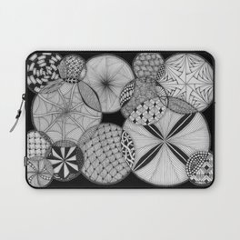Zentangle®-Inspired Art - ZIA 53 Laptop Sleeve