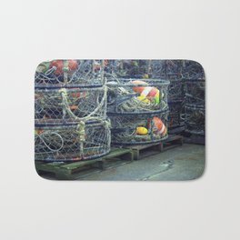 Fishing Traps Bath Mat