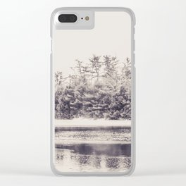 Papermill Lake Clear iPhone Case