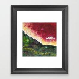Watering Time Framed Art Print