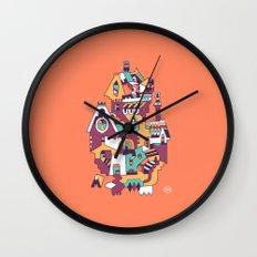 Farrier's Cabin Wall Clock