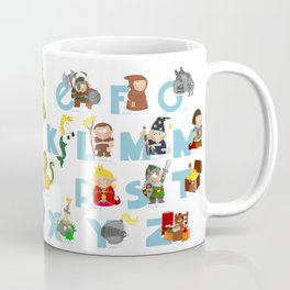 ABC  medieval (spanish) Coffee Mug