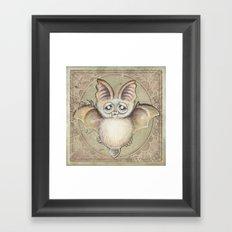 Bat Tito Framed Art Print
