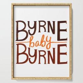 Byrne baby Byrne / Bog Man burning Serving Tray